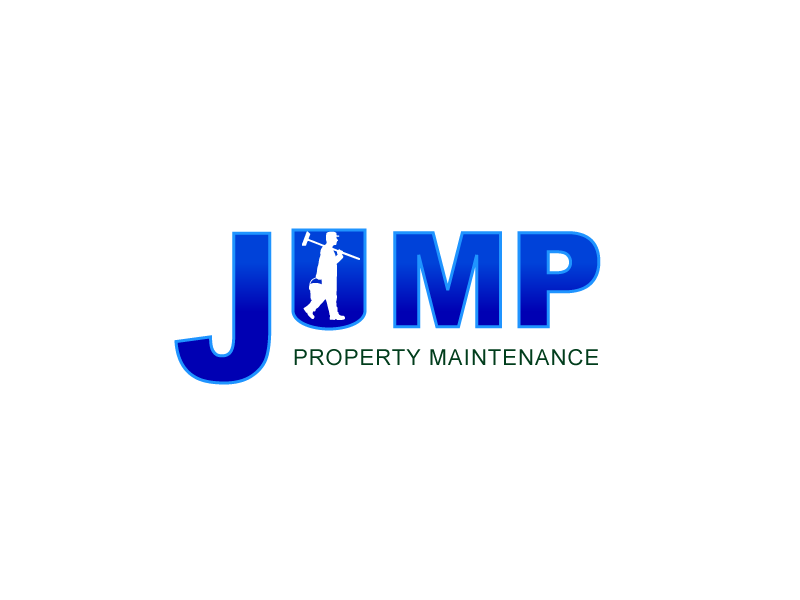 Logo Design by Private User - Entry No. 81 in the Logo Design Contest Creative Logo Design for Jump Property Maintenance.