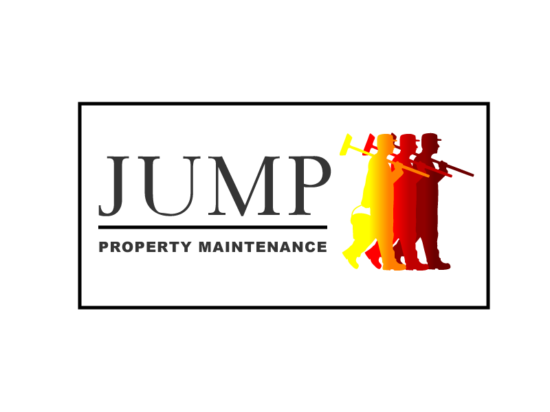 Logo Design by Private User - Entry No. 83 in the Logo Design Contest Creative Logo Design for Jump Property Maintenance.
