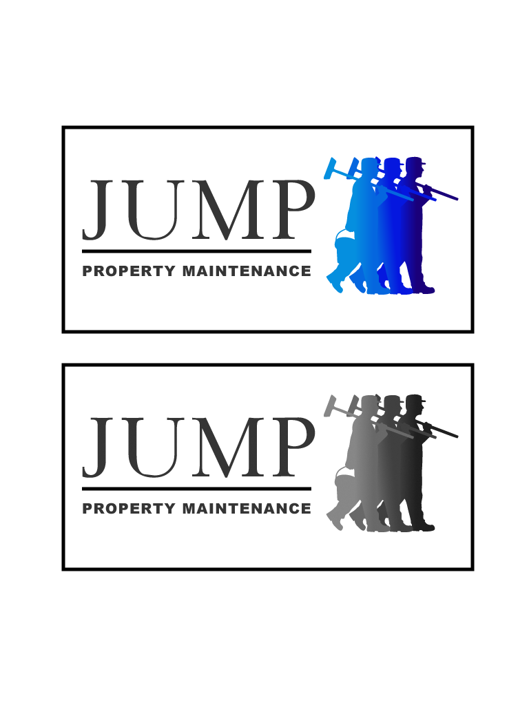 Logo Design by Private User - Entry No. 87 in the Logo Design Contest Creative Logo Design for Jump Property Maintenance.