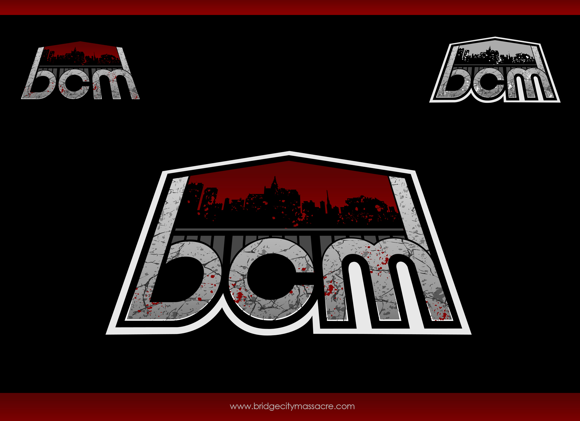 Logo Design by omARTist - Entry No. 48 in the Logo Design Contest New Logo Design for Bridge City Massacre.