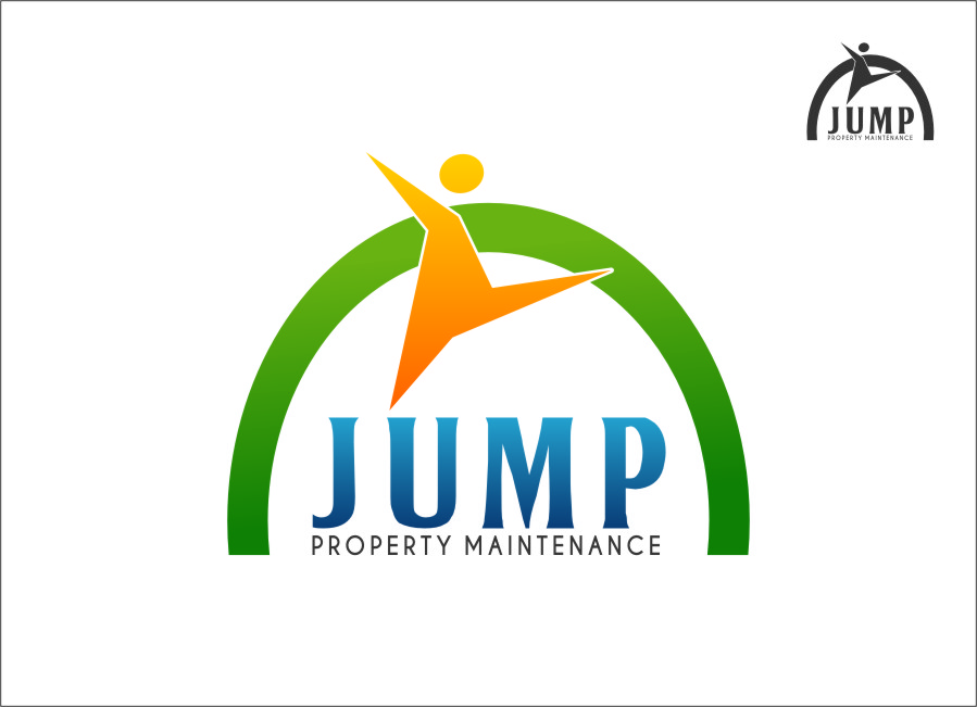 Logo Design by RasYa Muhammad Athaya - Entry No. 89 in the Logo Design Contest Creative Logo Design for Jump Property Maintenance.