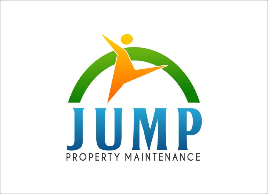Logo Design by RasYa Muhammad Athaya - Entry No. 90 in the Logo Design Contest Creative Logo Design for Jump Property Maintenance.