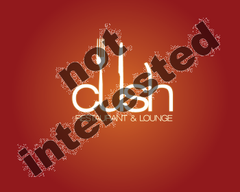 Logo Design by tridib - Entry No. 160 in the Logo Design Contest Cush Restaurant & Lounge Ltd..