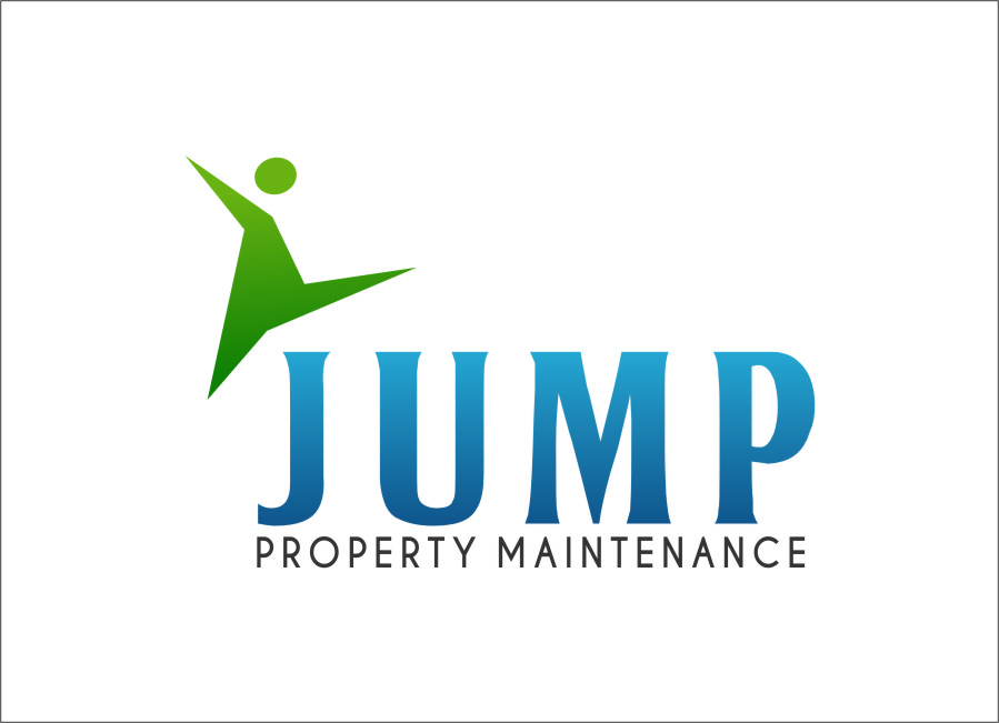 Logo Design by Ngepet_art - Entry No. 91 in the Logo Design Contest Creative Logo Design for Jump Property Maintenance.