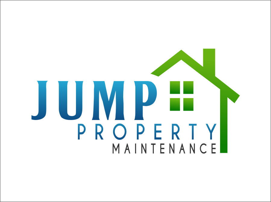 Logo Design by Ngepet_art - Entry No. 92 in the Logo Design Contest Creative Logo Design for Jump Property Maintenance.