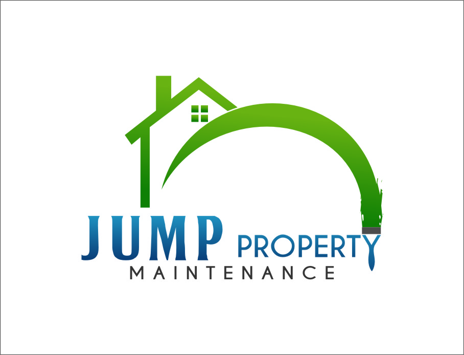 Logo Design by RasYa Muhammad Athaya - Entry No. 93 in the Logo Design Contest Creative Logo Design for Jump Property Maintenance.