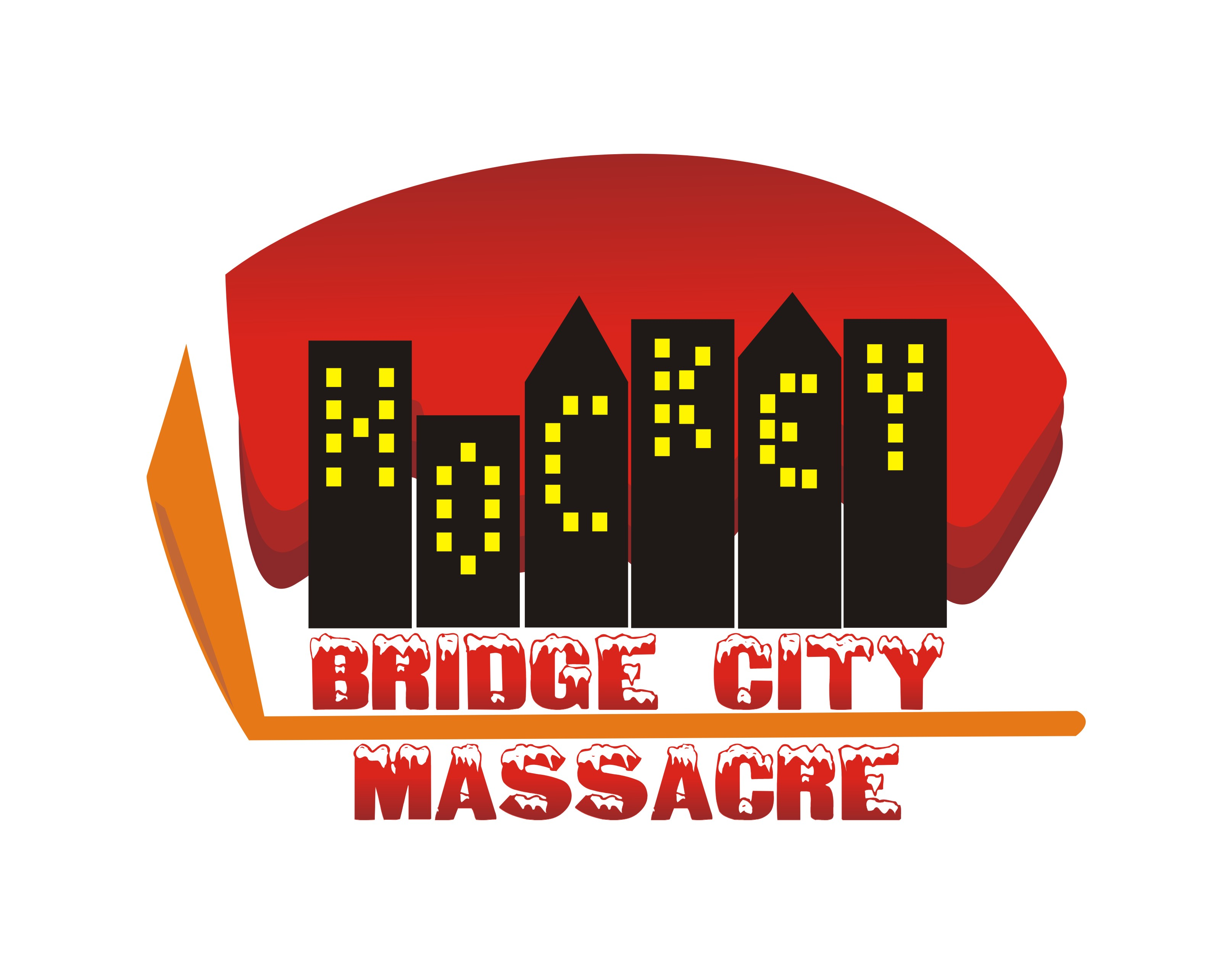 Logo Design by Shailender Kumar - Entry No. 51 in the Logo Design Contest New Logo Design for Bridge City Massacre.