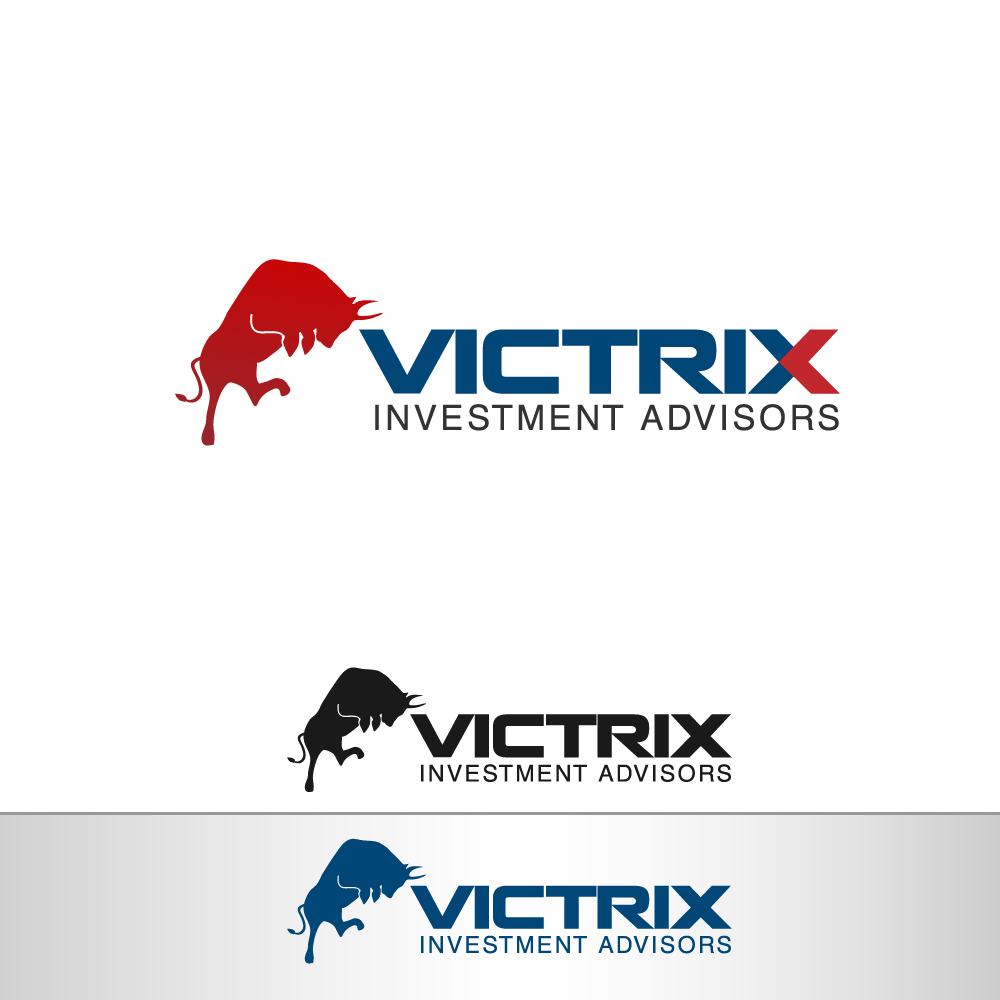 Logo Design by rockin - Entry No. 7 in the Logo Design Contest Inspiring Logo Design for Victrix Investment Advisors.