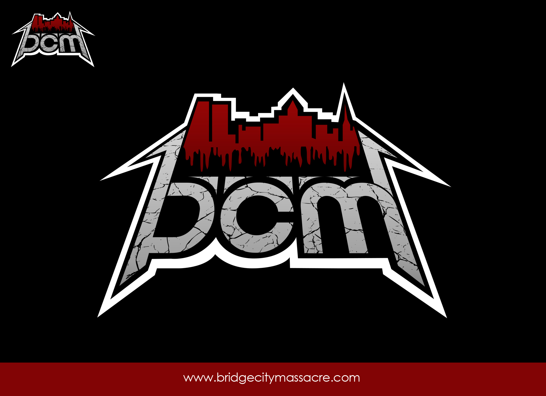 Logo Design by omARTist - Entry No. 53 in the Logo Design Contest New Logo Design for Bridge City Massacre.