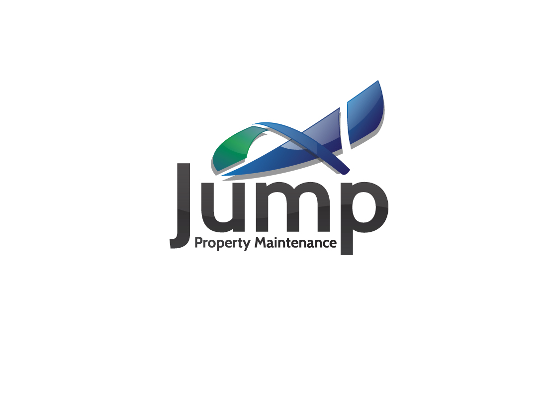 Logo Design by tey3c13 - Entry No. 94 in the Logo Design Contest Creative Logo Design for Jump Property Maintenance.
