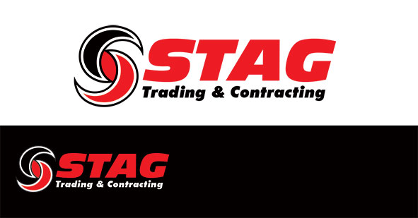 Logo Design by Mohamed Sheikh - Entry No. 79 in the Logo Design Contest Captivating Logo Design for STAG Trading & Contracting.