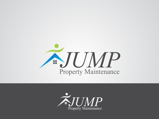 Logo Design by Rizwan Saeed - Entry No. 97 in the Logo Design Contest Creative Logo Design for Jump Property Maintenance.