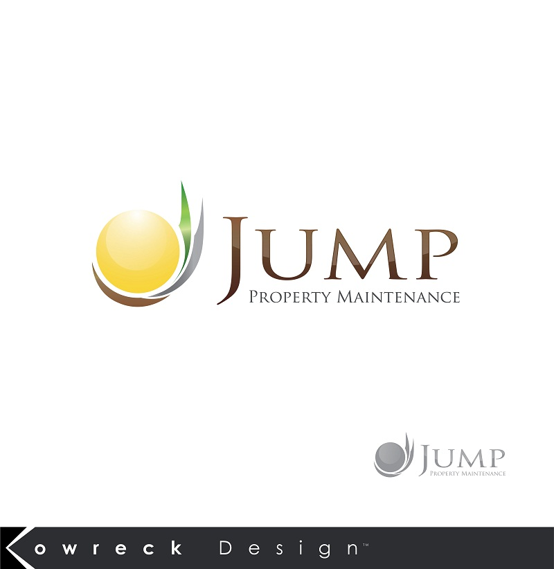 Logo Design by kowreck - Entry No. 98 in the Logo Design Contest Creative Logo Design for Jump Property Maintenance.