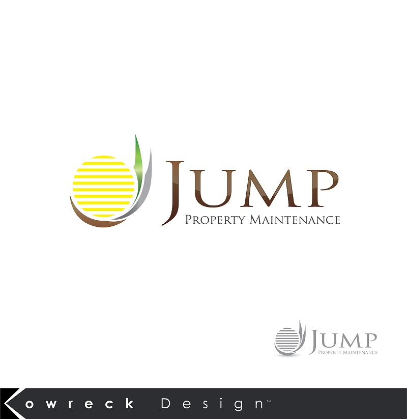 Logo Design by kowreck - Entry No. 99 in the Logo Design Contest Creative Logo Design for Jump Property Maintenance.