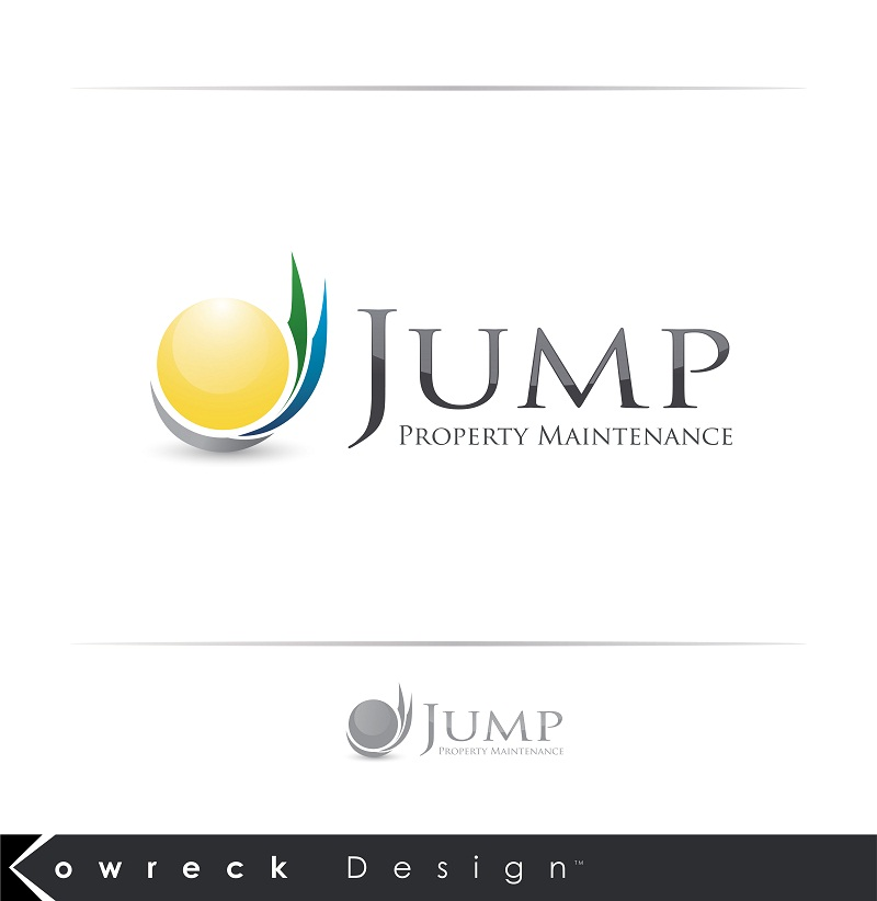 Logo Design by kowreck - Entry No. 100 in the Logo Design Contest Creative Logo Design for Jump Property Maintenance.