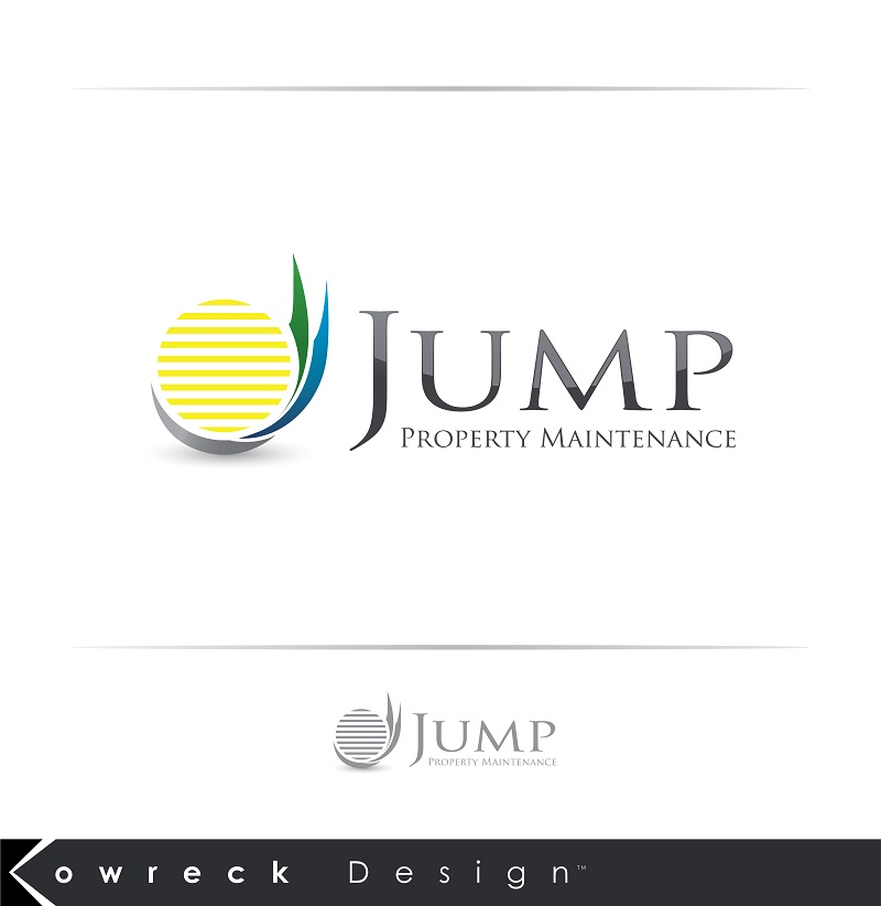 Logo Design by kowreck - Entry No. 101 in the Logo Design Contest Creative Logo Design for Jump Property Maintenance.