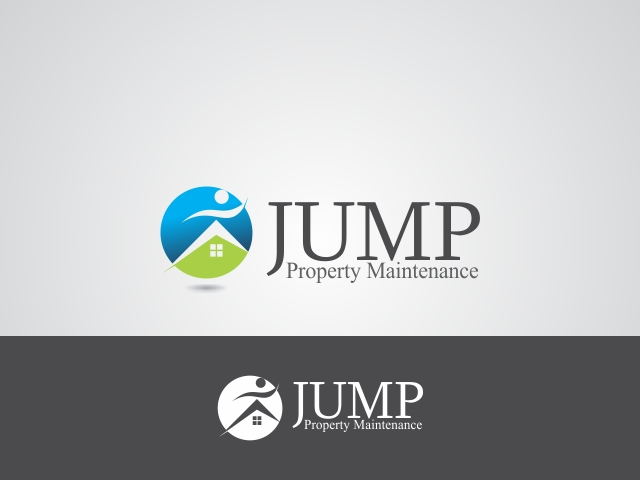 Logo Design by Rizwan Saeed - Entry No. 102 in the Logo Design Contest Creative Logo Design for Jump Property Maintenance.