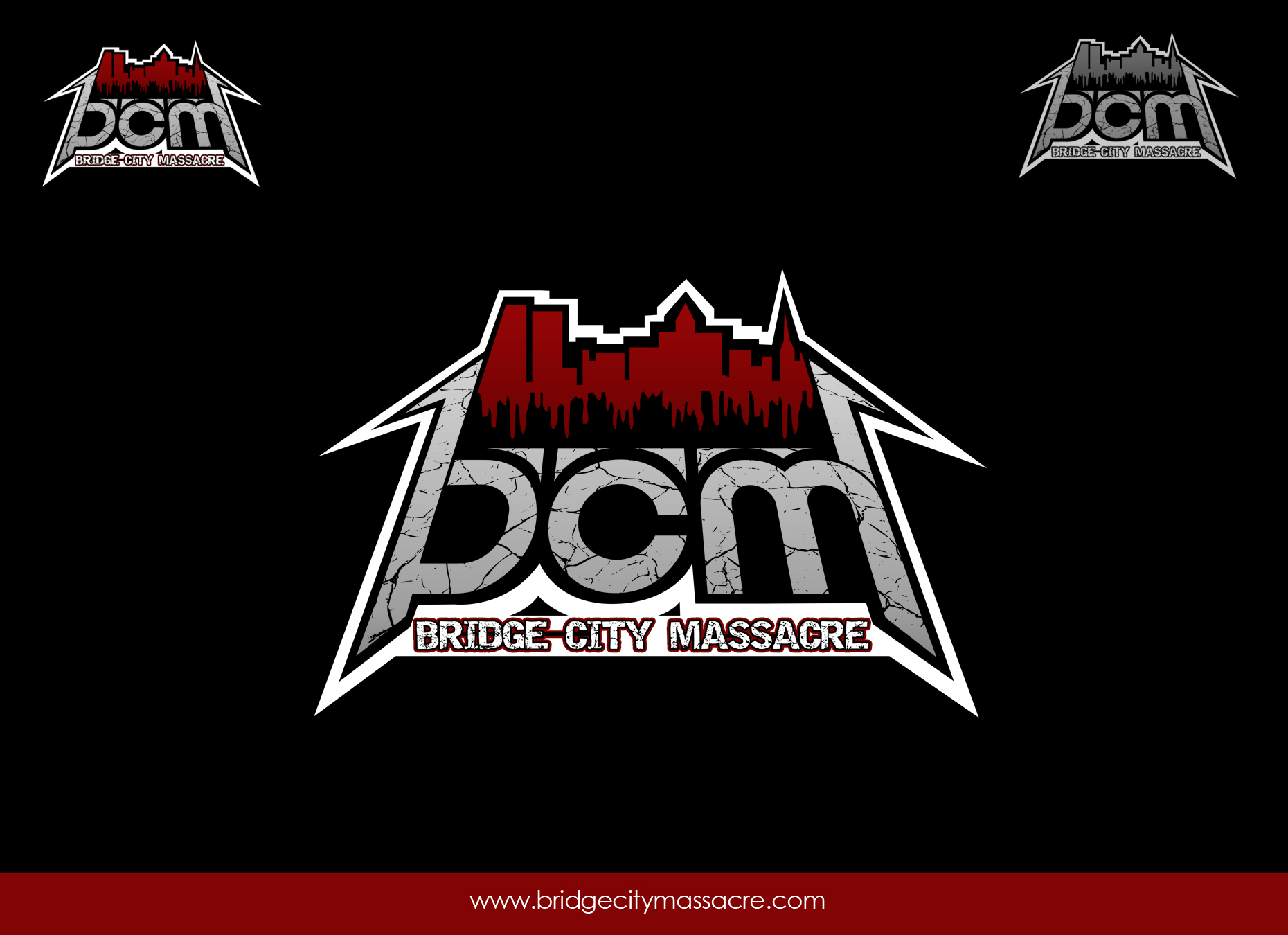 Logo Design by omARTist - Entry No. 54 in the Logo Design Contest New Logo Design for Bridge City Massacre.