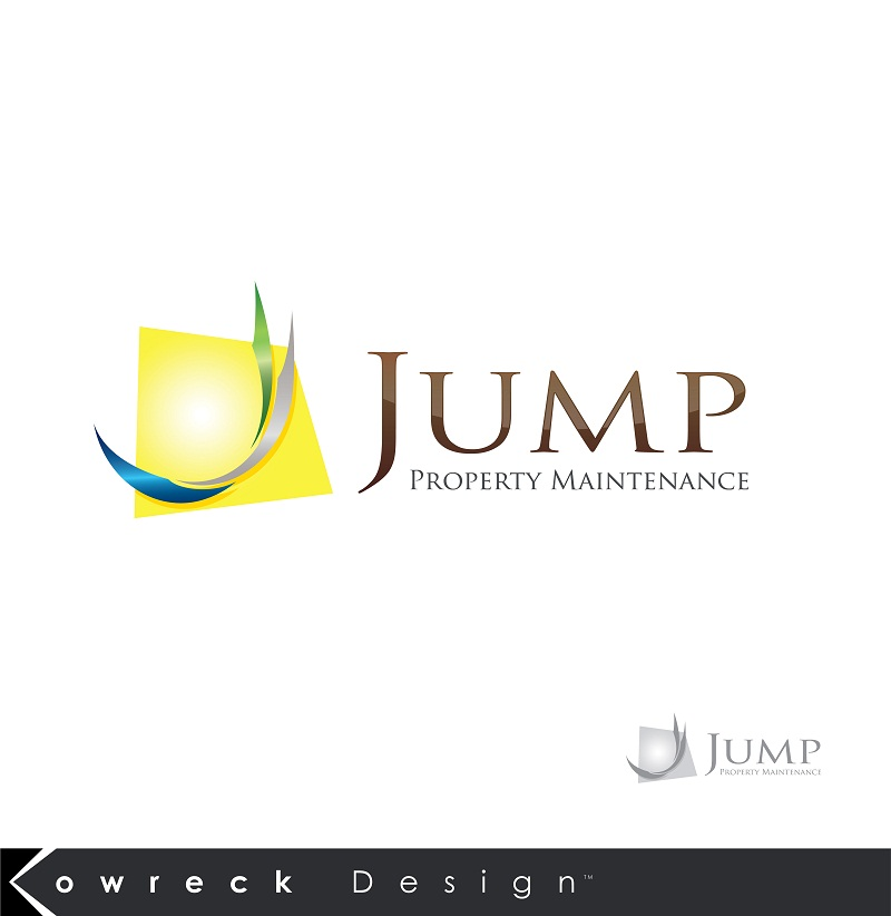 Logo Design by kowreck - Entry No. 103 in the Logo Design Contest Creative Logo Design for Jump Property Maintenance.