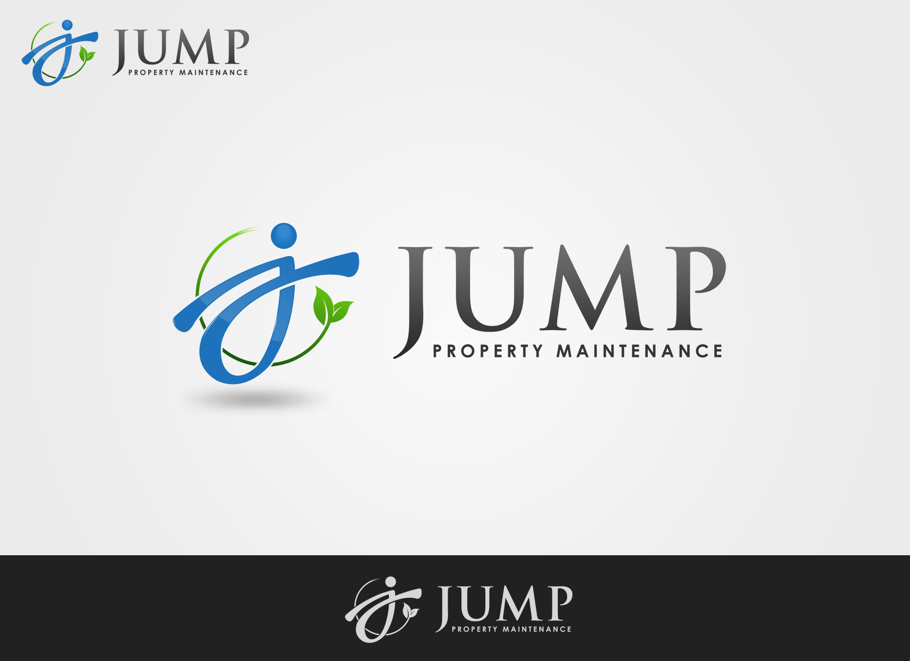 Logo Design by omARTist - Entry No. 104 in the Logo Design Contest Creative Logo Design for Jump Property Maintenance.