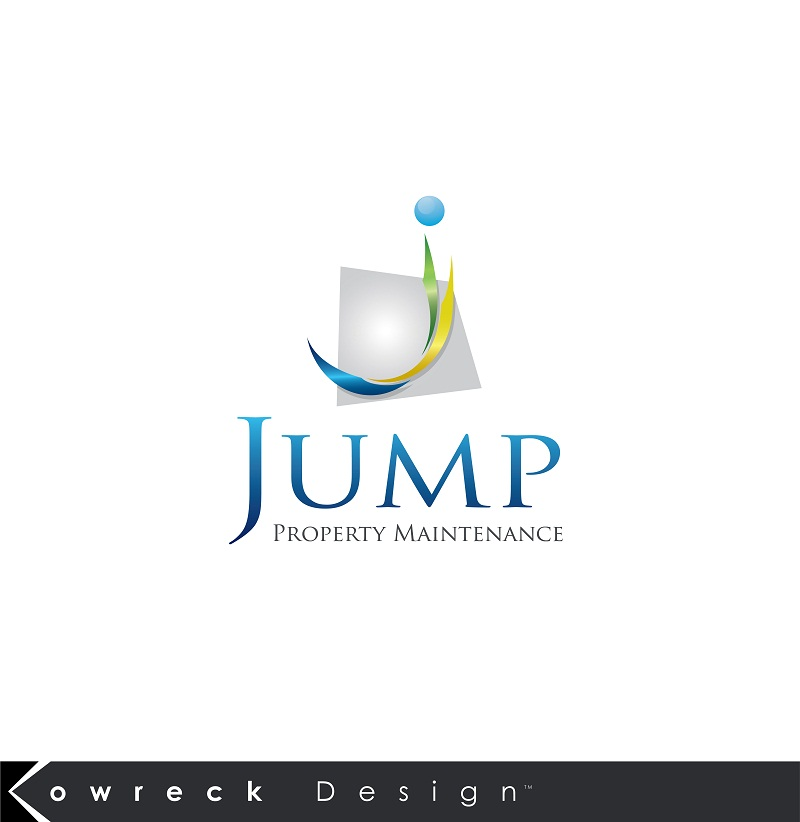 Logo Design by kowreck - Entry No. 105 in the Logo Design Contest Creative Logo Design for Jump Property Maintenance.