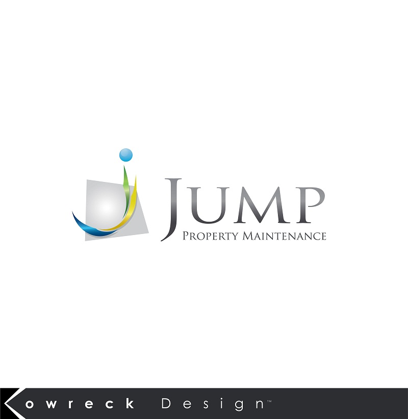 Logo Design by kowreck - Entry No. 106 in the Logo Design Contest Creative Logo Design for Jump Property Maintenance.
