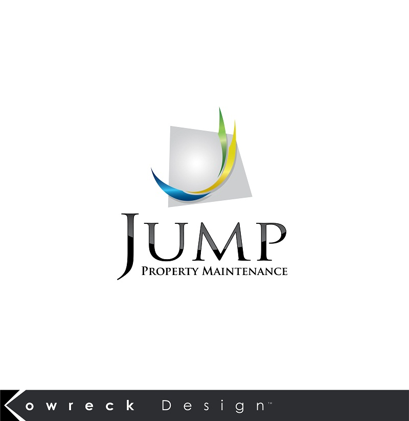Logo Design by kowreck - Entry No. 107 in the Logo Design Contest Creative Logo Design for Jump Property Maintenance.