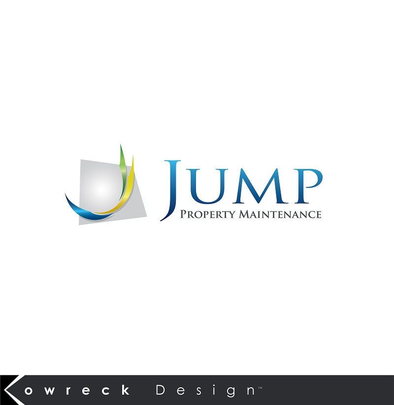 Logo Design by kowreck - Entry No. 108 in the Logo Design Contest Creative Logo Design for Jump Property Maintenance.