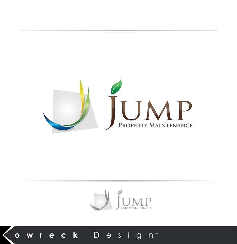 Logo Design by kowreck - Entry No. 109 in the Logo Design Contest Creative Logo Design for Jump Property Maintenance.