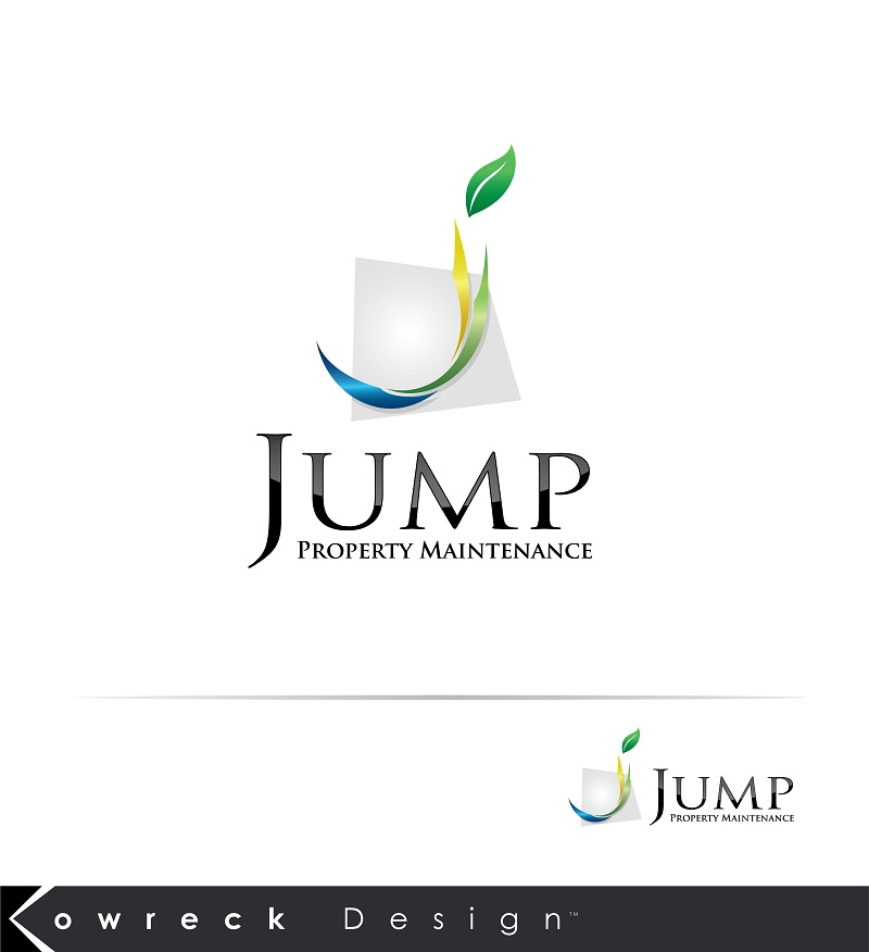 Logo Design by kowreck - Entry No. 110 in the Logo Design Contest Creative Logo Design for Jump Property Maintenance.