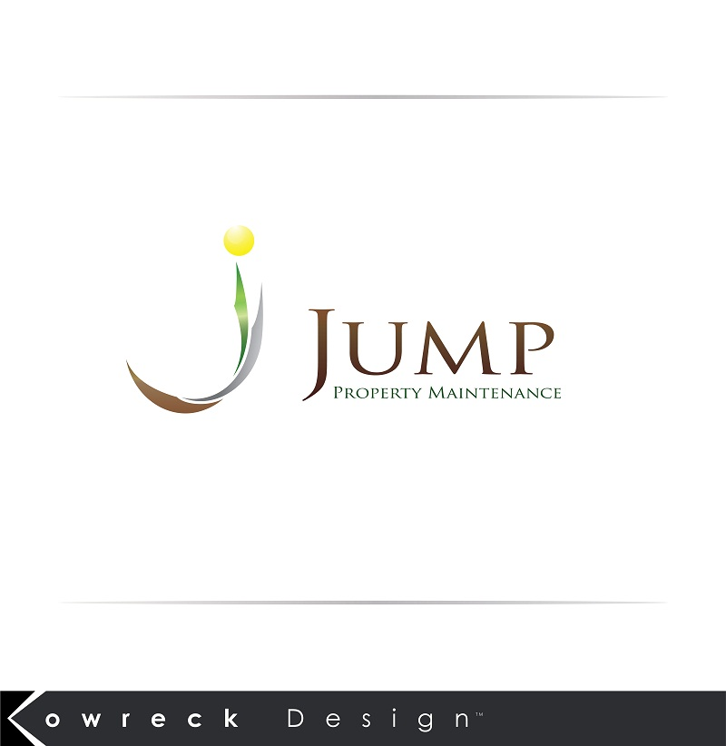 Logo Design by kowreck - Entry No. 111 in the Logo Design Contest Creative Logo Design for Jump Property Maintenance.