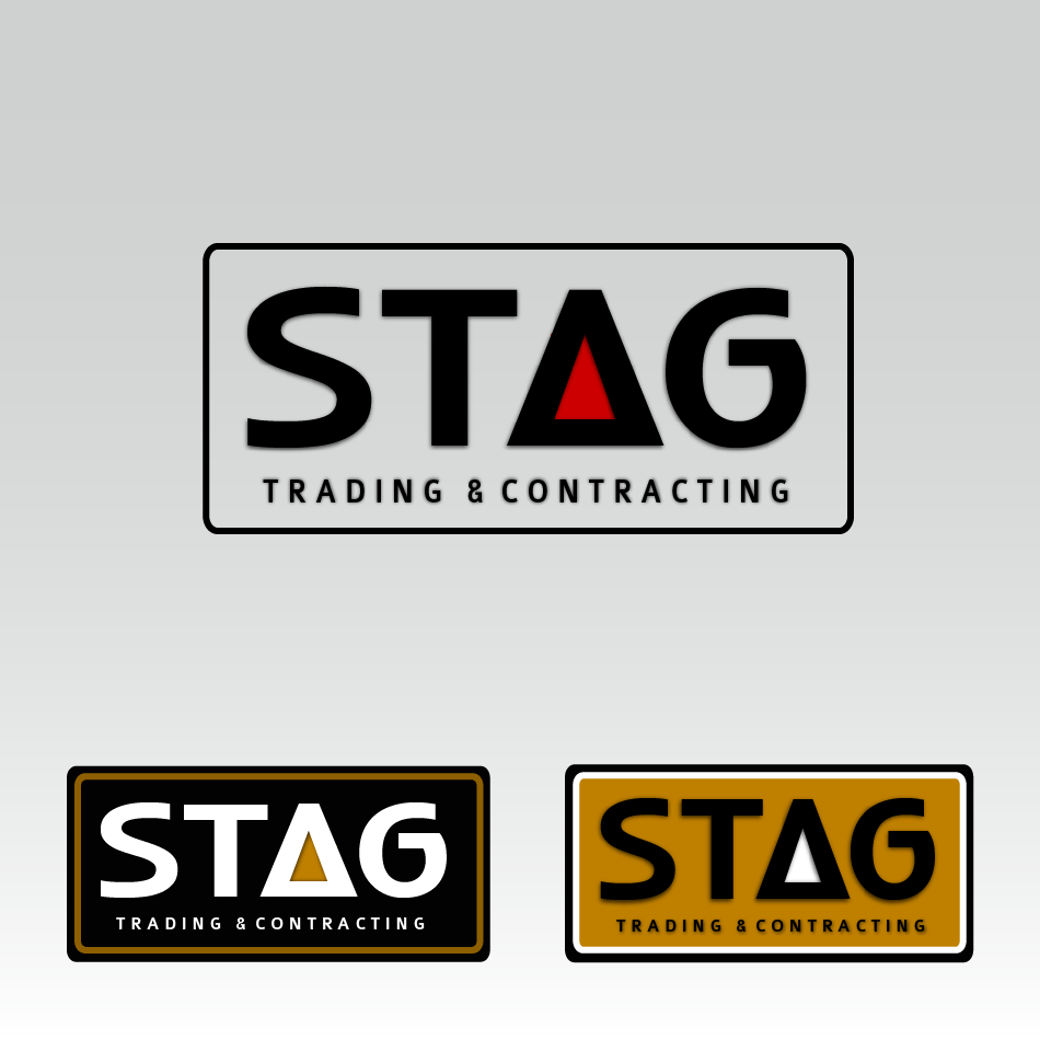 Logo Design by moonflower - Entry No. 84 in the Logo Design Contest Captivating Logo Design for STAG Trading & Contracting.
