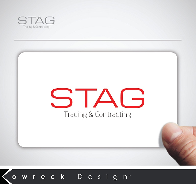 Logo Design by kowreck - Entry No. 85 in the Logo Design Contest Captivating Logo Design for STAG Trading & Contracting.