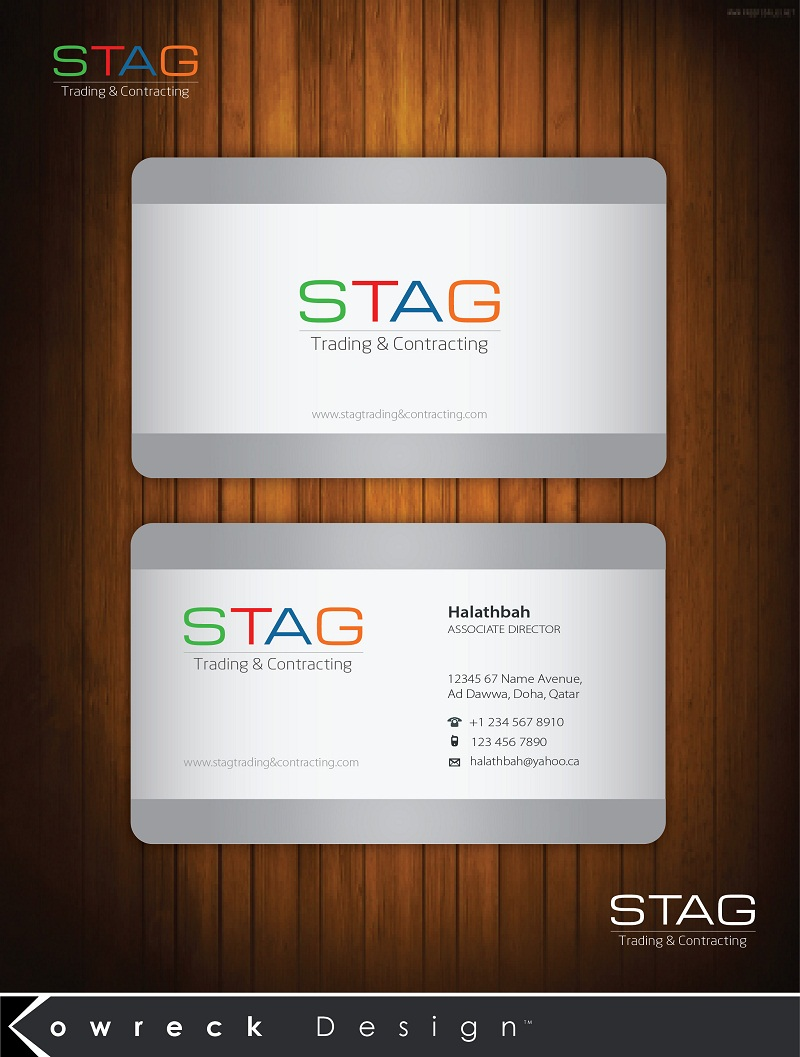 Logo Design by kowreck - Entry No. 88 in the Logo Design Contest Captivating Logo Design for STAG Trading & Contracting.