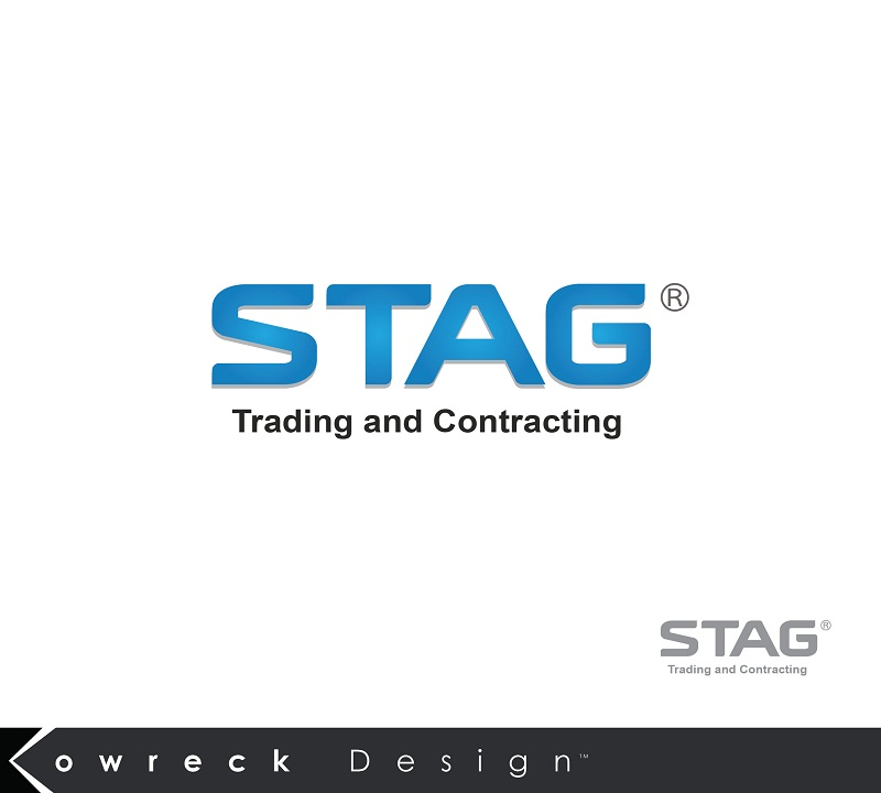 Logo Design by kowreck - Entry No. 89 in the Logo Design Contest Captivating Logo Design for STAG Trading & Contracting.