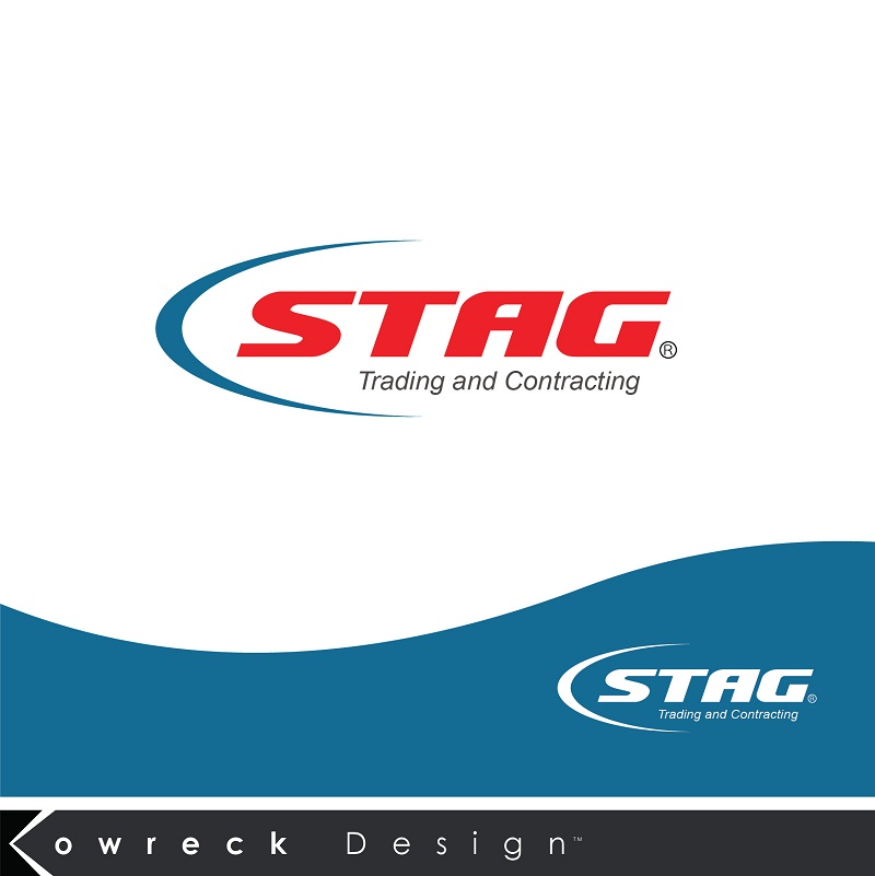 Logo Design by kowreck - Entry No. 91 in the Logo Design Contest Captivating Logo Design for STAG Trading & Contracting.