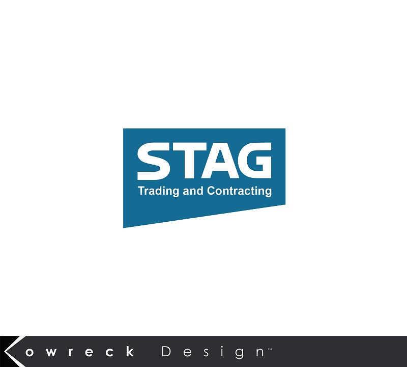 Logo Design by kowreck - Entry No. 94 in the Logo Design Contest Captivating Logo Design for STAG Trading & Contracting.