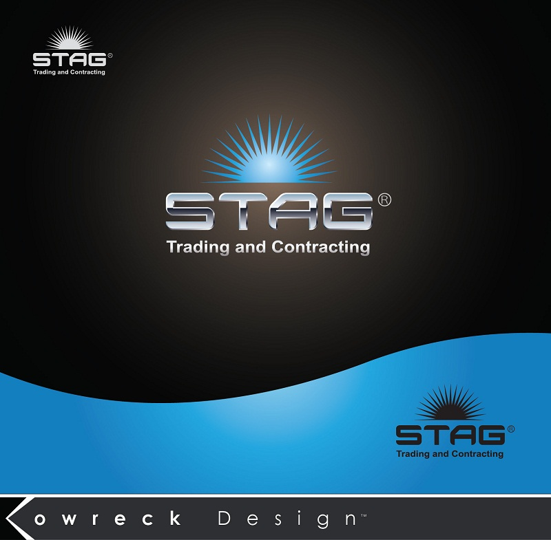 Logo Design by kowreck - Entry No. 95 in the Logo Design Contest Captivating Logo Design for STAG Trading & Contracting.