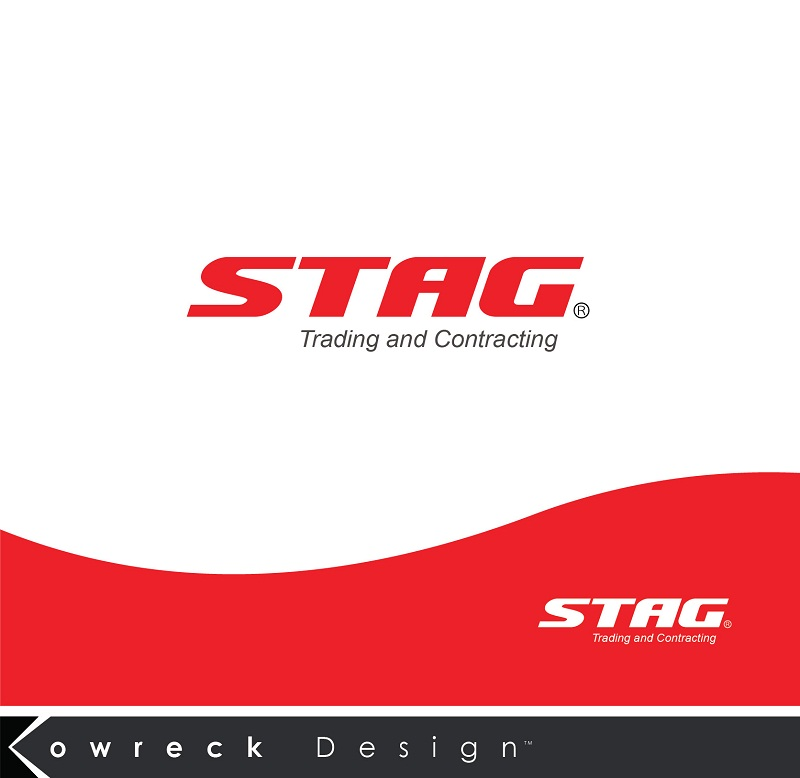 Logo Design by kowreck - Entry No. 96 in the Logo Design Contest Captivating Logo Design for STAG Trading & Contracting.