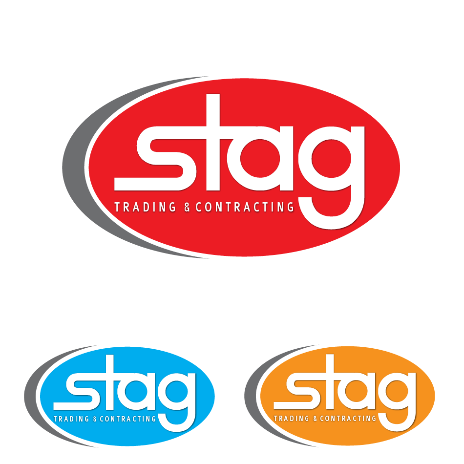 Logo Design by moonflower - Entry No. 98 in the Logo Design Contest Captivating Logo Design for STAG Trading & Contracting.