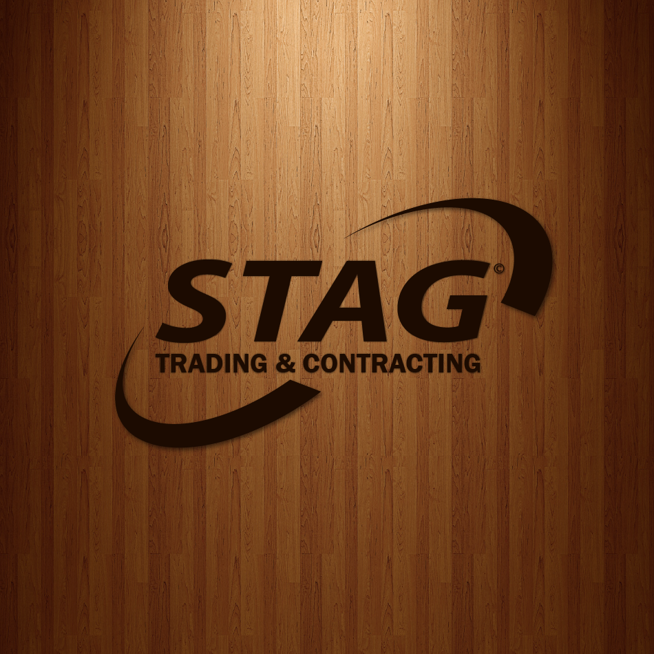 Logo Design by moonflower - Entry No. 101 in the Logo Design Contest Captivating Logo Design for STAG Trading & Contracting.