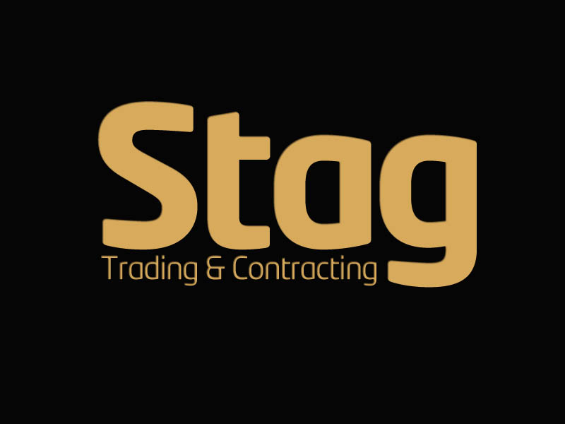 Logo Design by Mohamed Abdulrub - Entry No. 103 in the Logo Design Contest Captivating Logo Design for STAG Trading & Contracting.