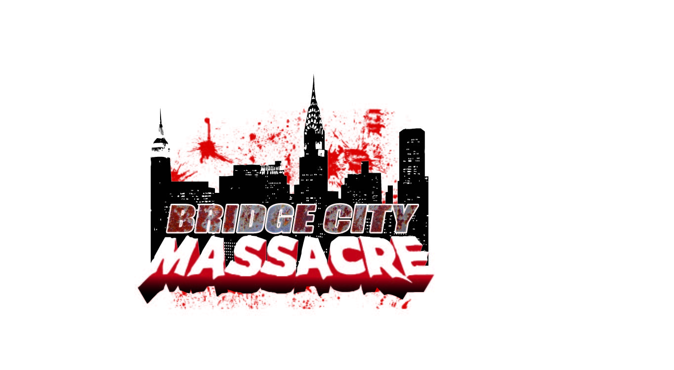 Logo Design by rolsjee - Entry No. 56 in the Logo Design Contest New Logo Design for Bridge City Massacre.