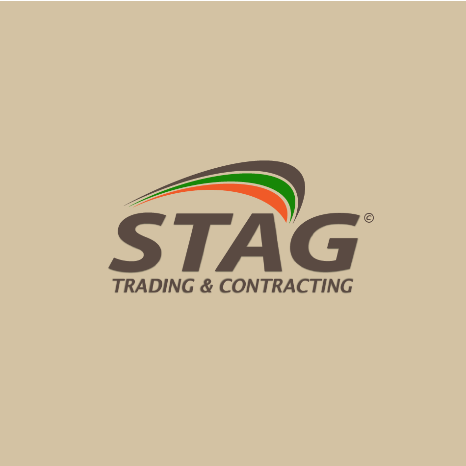 Logo Design by moonflower - Entry No. 105 in the Logo Design Contest Captivating Logo Design for STAG Trading & Contracting.