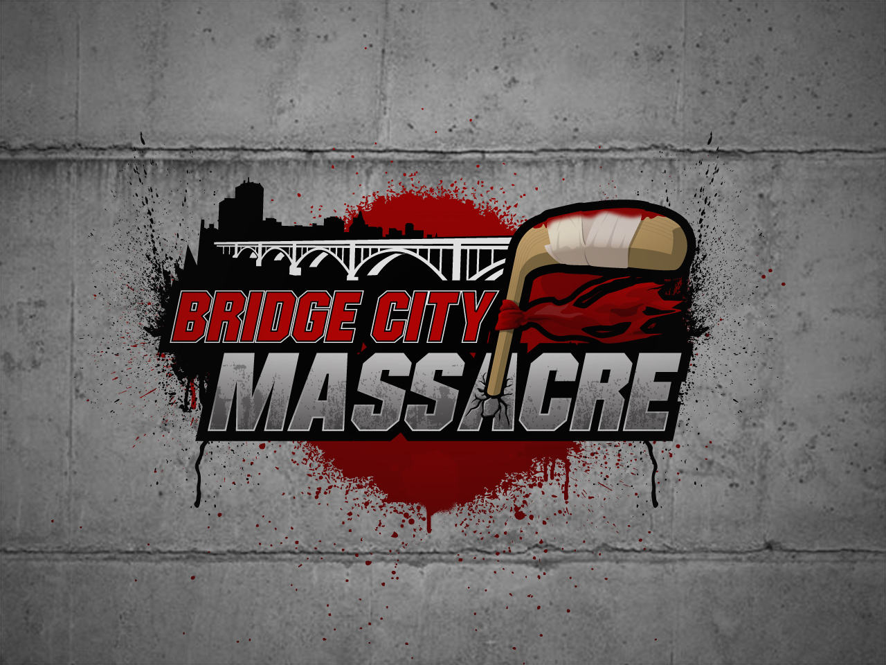 Logo Design by jpbituin - Entry No. 58 in the Logo Design Contest New Logo Design for Bridge City Massacre.