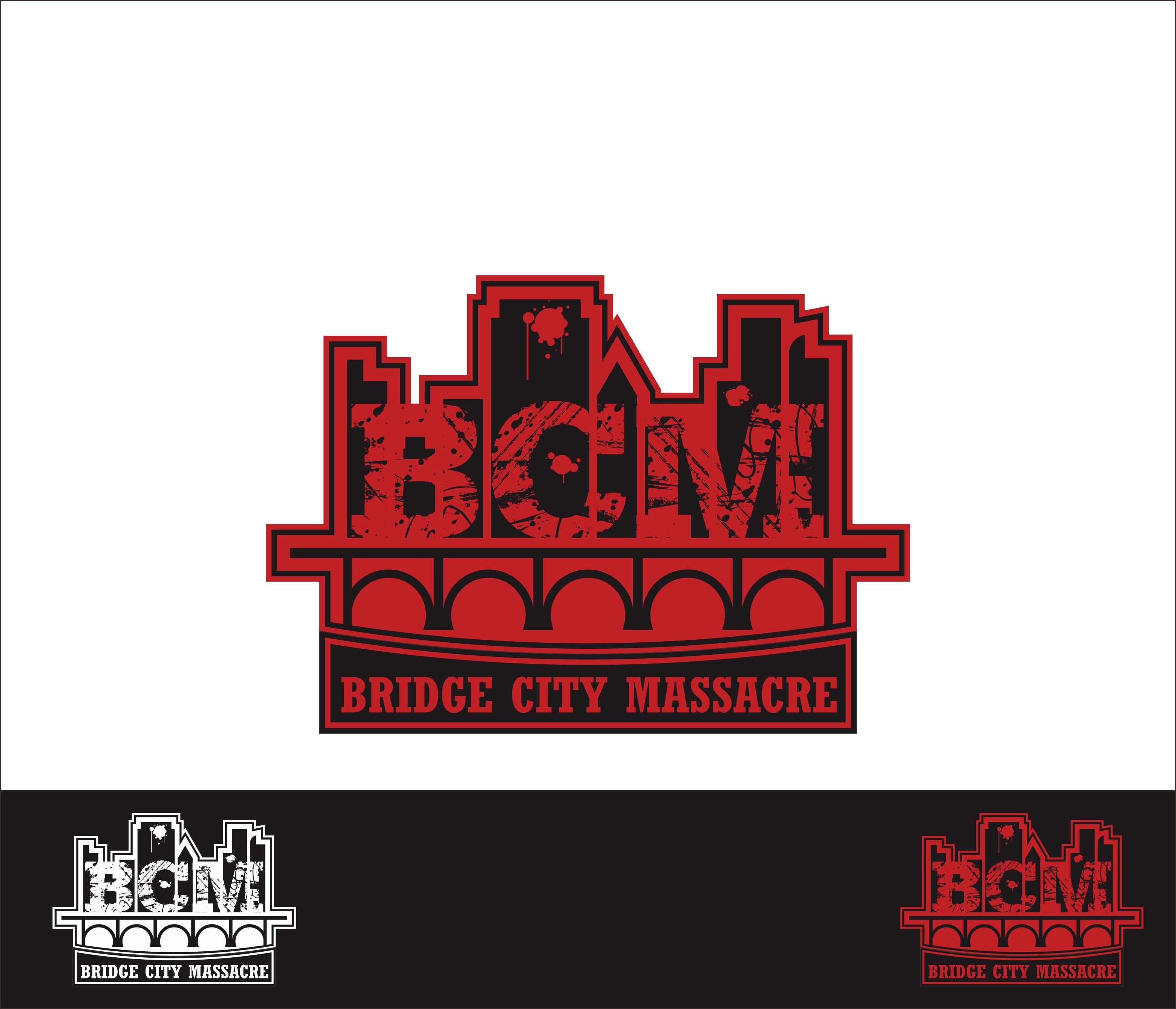 Logo Design by Armada Jamaluddin - Entry No. 59 in the Logo Design Contest New Logo Design for Bridge City Massacre.