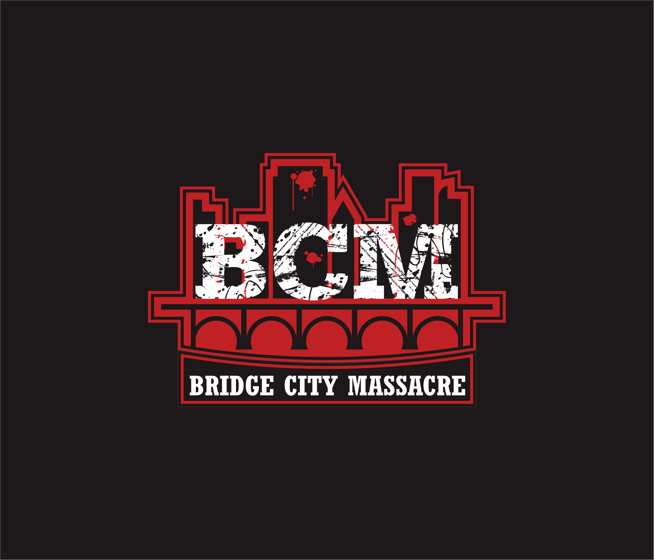 Logo Design by Armada Jamaluddin - Entry No. 60 in the Logo Design Contest New Logo Design for Bridge City Massacre.