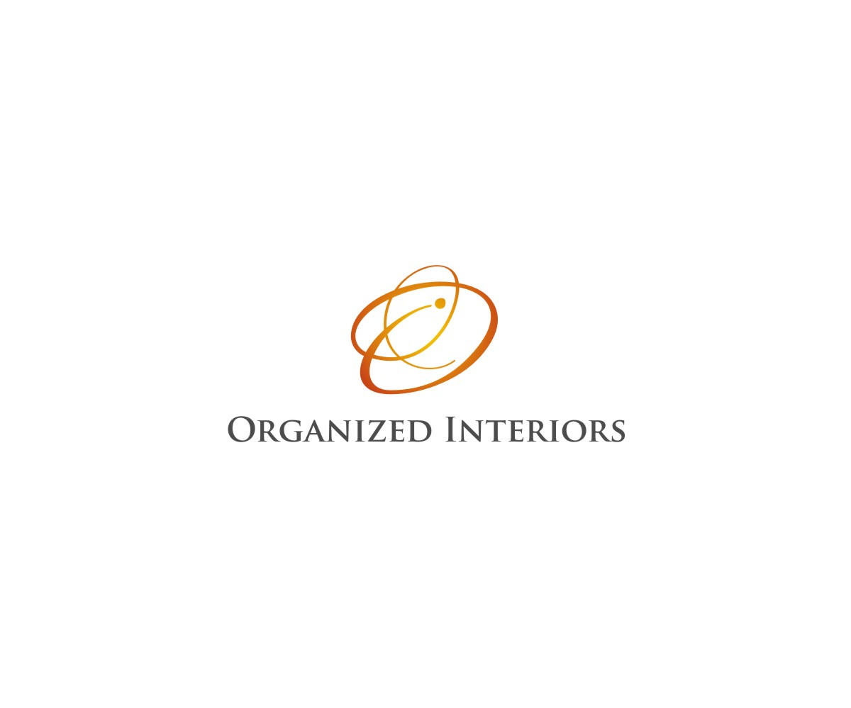 Logo Design by untung - Entry No. 8 in the Logo Design Contest Imaginative Logo Design for Organized Interiors.
