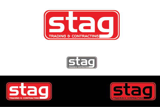 Logo Design by Private User - Entry No. 114 in the Logo Design Contest Captivating Logo Design for STAG Trading & Contracting.