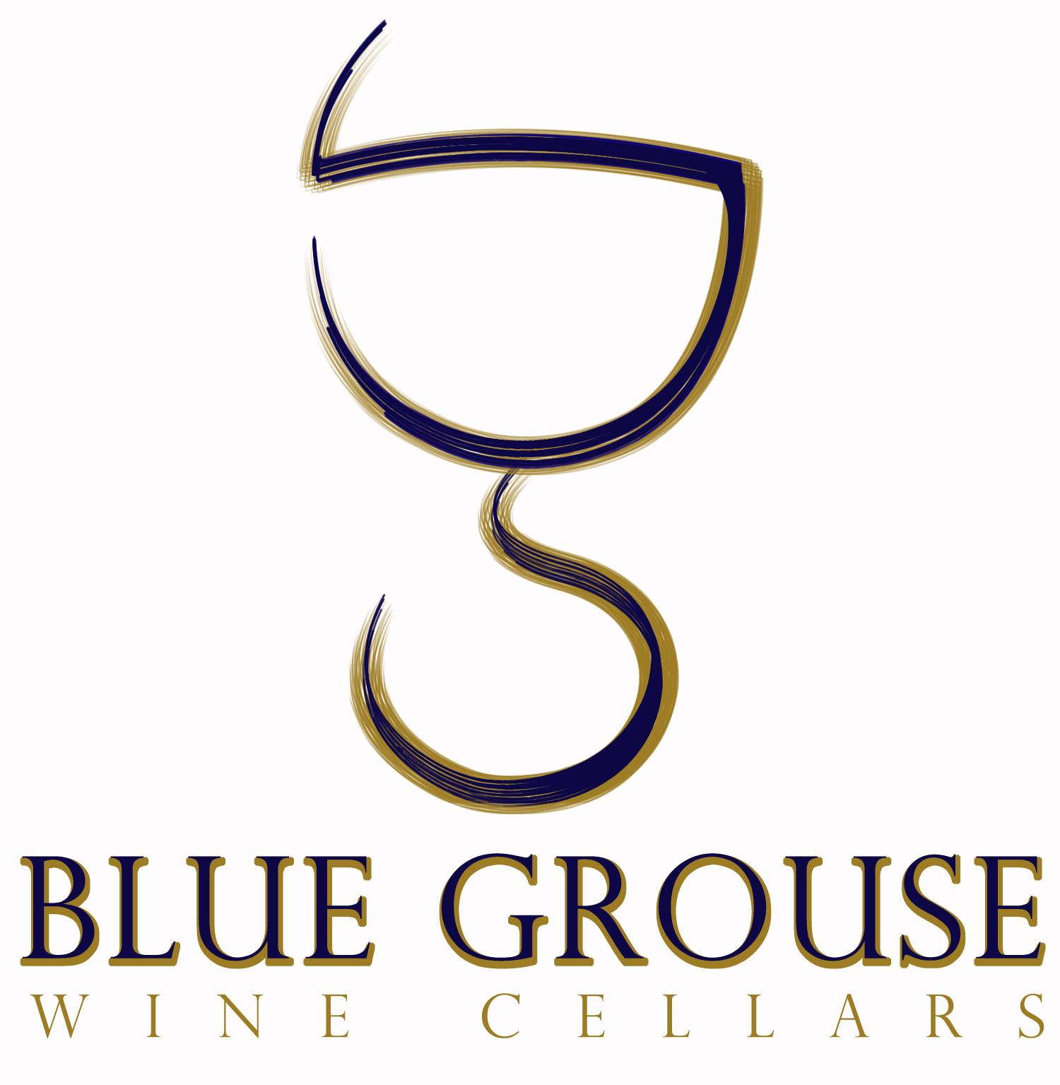 Logo Design by Private User - Entry No. 242 in the Logo Design Contest Creative Logo Design for Blue Grouse Wine Cellars.